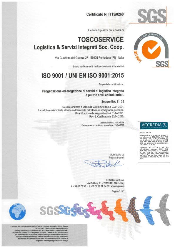 CERTIFICATO TOSCOSERVICE IT15-0260_1